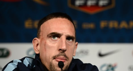 Ribery: The winger who failed to get France to fly