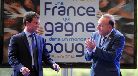 'I love business': French PM woos employers