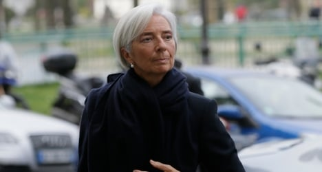 IMF board expresses confidence in Lagarde