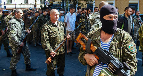 Ukraine: 'French experts to join rebel fighters'