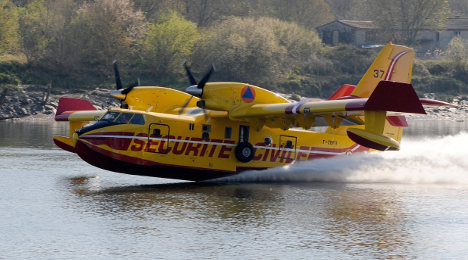 'Too smokey' for French to help fight Swedish fire