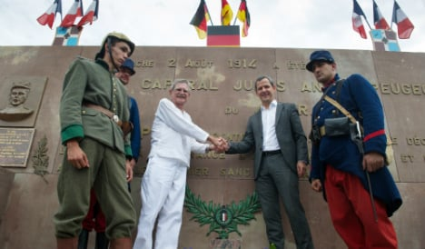 France remembers first soldiers killed in WWI
