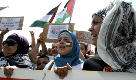 Thousands join French rallies in support of Gaza