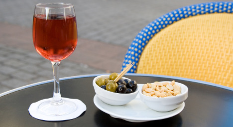 And the priciest place in France for an 'apéro' is?