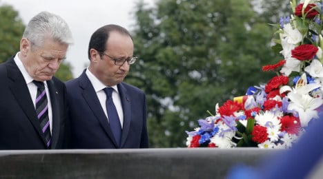 France and Germany are 'an example to the world'