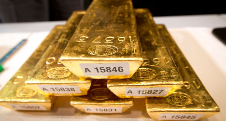 French builders find secret gold stash on site