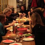 """<b>Embrace the tradition of hours long meals:</b> Dinners, especially those with family can last for a while: four hours is not uncommon. Why? This is a very social event. People enjoy sharing while sharing good food. Meals are at the center of French culture. And even more so for families. Listen to the grandmother's stories during the """"apéro"""", then hear about the cousin's studies over the main dish and talk about your country during dessert. That's France for you.Photo: Dominique Chappard/Flickr"""