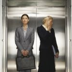 """<b>7. Small talk:</b> Stuck in the elevator with your boss? The best bet to remain on a good footing with him or her is to just say """"bonjour"""", and then leave it at that. The French aren't as uncomfortable with silence as many foreigners are, but they tend to find irrelevant small talk unnecessary. It may feel uncomfortable at first but you'll soon admire their honesty.Photo: Photo: Shutterstock"""