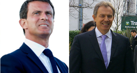 Is Manuel Valls really a French Tony Blair?
