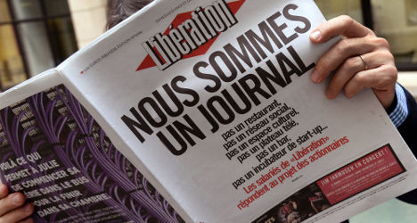 French paper Libération to fire third of its workers