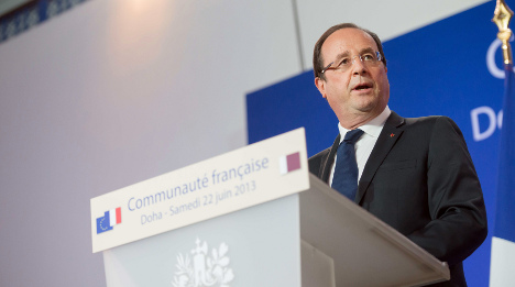 France ready to conduct air strikes on Iraq