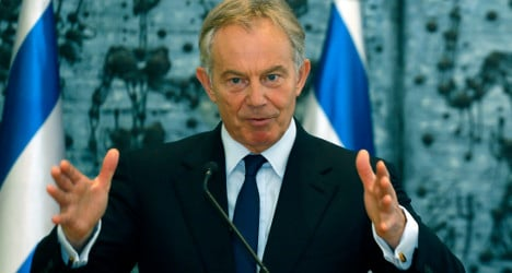 French leader hits out at Blair about Iraq invasion