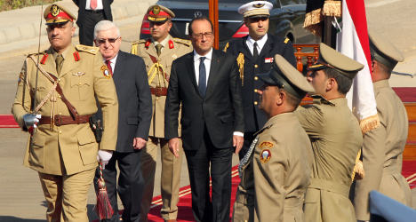 France offers military help to Iraq against ISIS