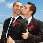 <b>Manly 'bises':</b> France has gay marriage and is a largely gay-friendly country, but many of those men you will see pecking each other on the cheek are probably not gay. French men often kiss their male relatives or close friends instead of shaking hands.Photo: Shutterstock