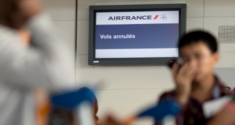 Air France strike: Most flights grounded