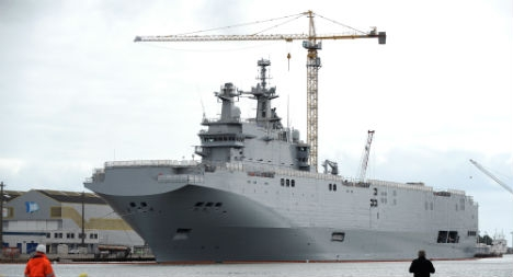Russian warship decision set for October