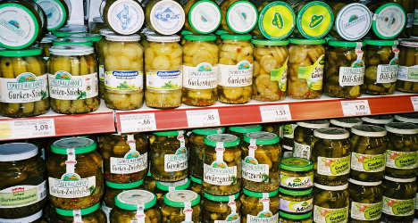 French cops find 8kg of ecstasy in tins of pickles