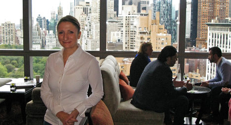 France's top female chef takes skills to New York