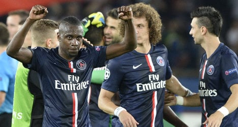 PSG's Blanc: 'We do our job for nights like this'
