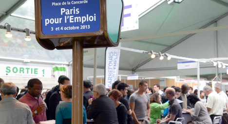 Paris job fair opens with 10,000 posts up for grabs
