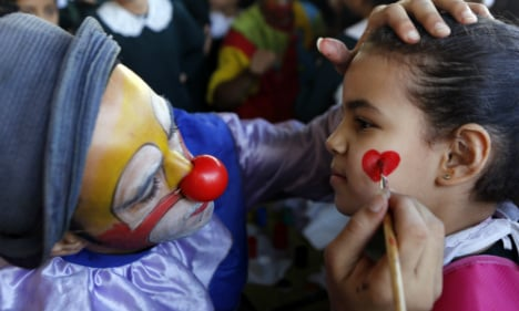 France gripped by clown terror