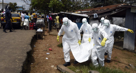 French docs develop 'high speed' Ebola test