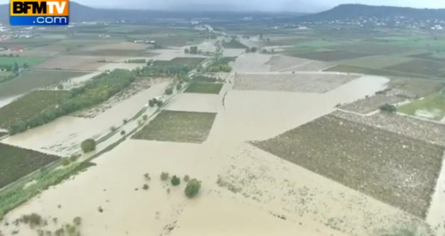 IN IMAGES: Floods ravage south of France