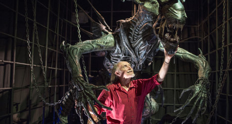 Movie monster 'Alien Queen' moves to France