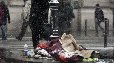 'Unlike the US the French don't blame the poor'