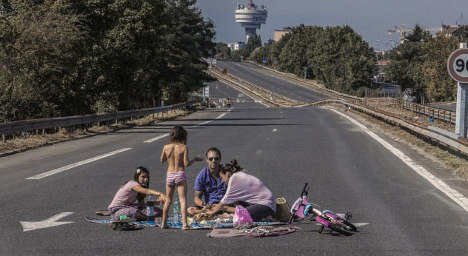 IN IMAGES: 'Ordinary' life in the Paris suburbs