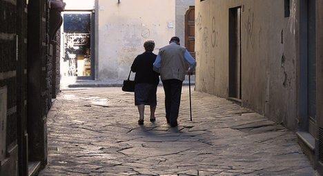 Better to grow old in the UK and US than France?