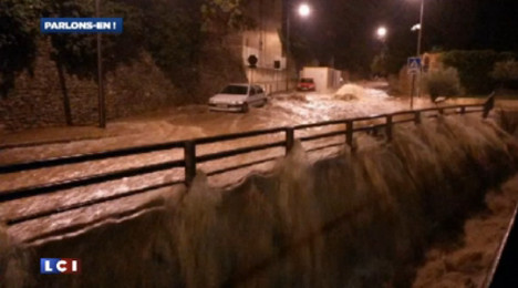 Extreme weather lashes southern France again