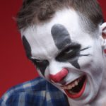 Fear of 'armed clowns' grips northern France