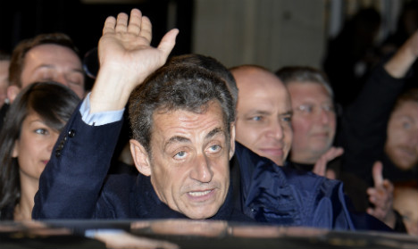 Sarkozy elected to head up French opposition