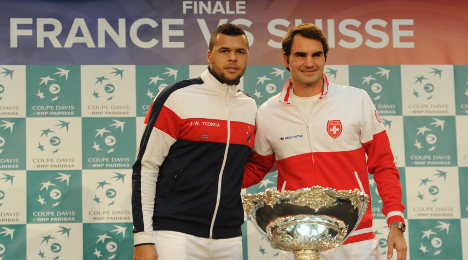 French and Swiss set for Davis Cup final clash