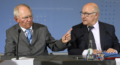 Paris-Berlin report says 'freeze wages in France'