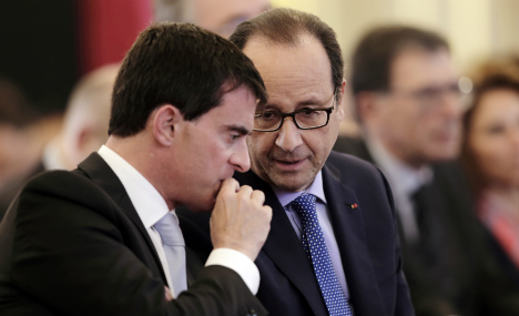 French PM Valls arrives in Chad on regional trip