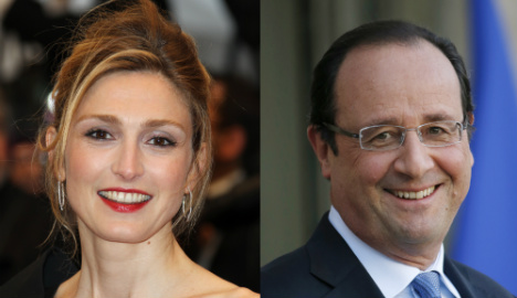 Hollande and Gayet pics prompt palace job switch