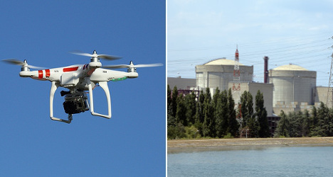 Who's flying drones over France's nuclear plants?
