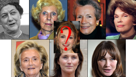 France's 'first ladies': A look at the other halves