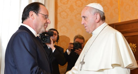 Pope's Strasbourg visit riles French secularists