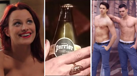 IN VIDEOS: Naughtiest French TV commercials