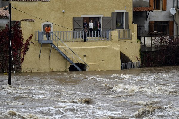 IN IMAGES: Violent storms lash the French Riviera