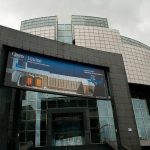 """<b>Opera Bastille:</b> Another of Mitterrand's """"Grands Travaux,"""" the Opéra Bastille has been perhaps his least successful. Opened on the 200th anniversary of the storming of the Bastille, despite the fact that it wasn't actually finished yet, it rampaged over budget to a total cost of 2.8 billion francs, for a building roundly denounced as lacking in imagination. Photo: Pierre (Rennes)"""