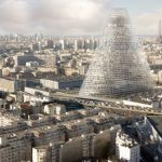 """<b>Triangle Tower:</b> Designed by Swiss agency Herzog and De Meuren, construction is yet to be approved on the Tour Triangle, which would rise to a height of 180m over south-west Paris. Given that the €535 million tower would be the first skyscraper to go up within Paris proper since the hated Tour Montparnasse, it has become something of a political weapon, beginning with former mayor Bernard Delanoë lobbying for the height restriction inspired by the former to be waived. Architect James Herzog has  some advice for those in opposition ahead of the decision by the Paris council later this month though: """"One mustn't think of it as a tower. It's more like a vertical city.""""Photo: Triangle"""
