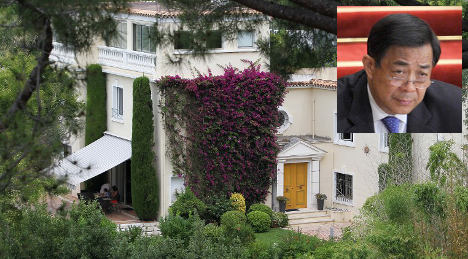 Shamed Chinese leader's French villa goes on sale