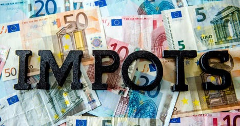 French tax man second greediest in the world