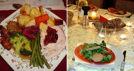 Who does Christmas better? French vs Anglos