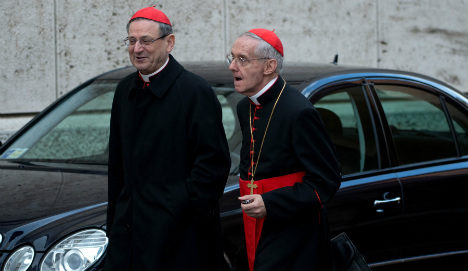 French cardinal named as papal back up
