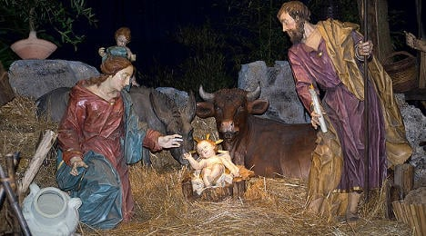 Baby Jesus banned from local council in France